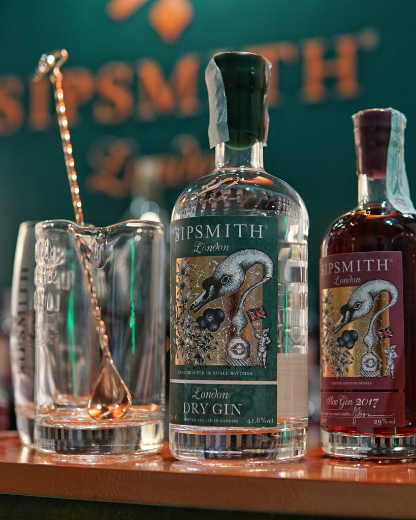 Sipsmith Gin at The Gin Day 2019