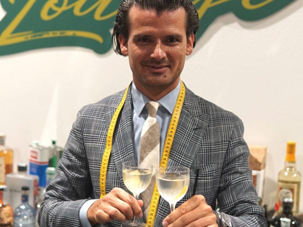 Erik Lorincz at The Gin Day Milan