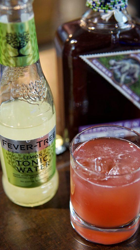 Elephand Sloe and FT Lemon Tonic