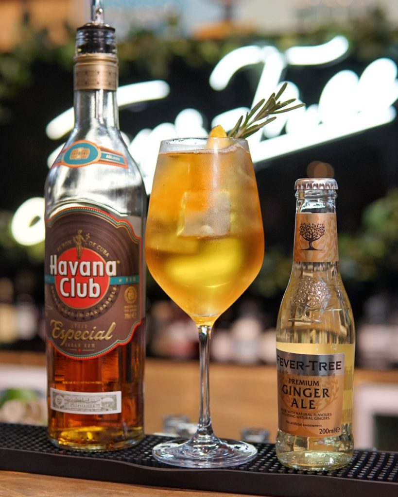 Havana X Fever-Tree Ginger Ale