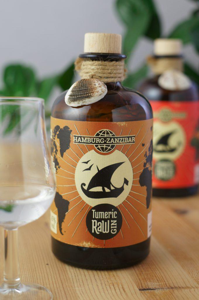 Hamburg-Zanzibar Tumeric Raw Gin